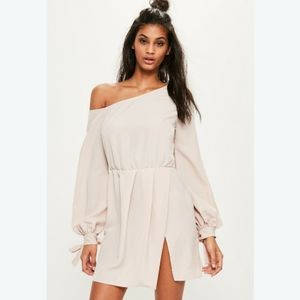 Missguided Off The Shoulder Shift Dress - Women's